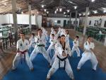 Alunos do Taekwondo do CRAS fazem exame