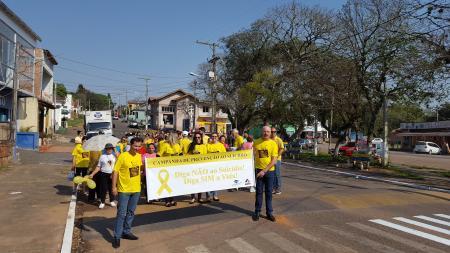 Saúde organiza caminhada do Setembro Amarelo