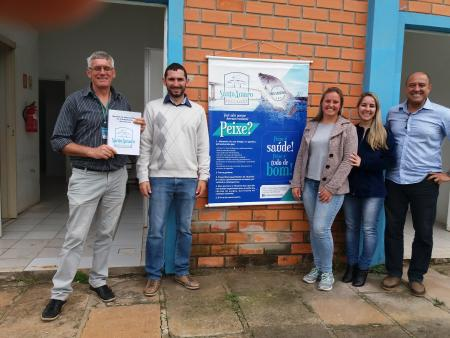 Peixe é a nova fonte de renda para comunidade