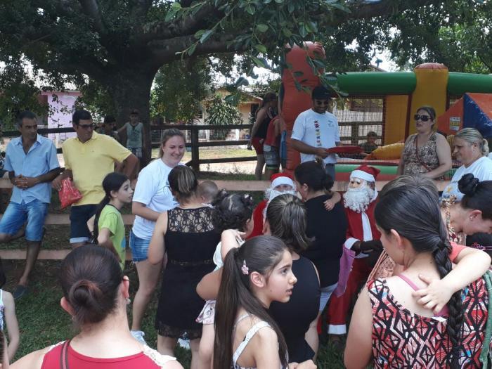 Caravana de Natal passou pelo Boqueirão