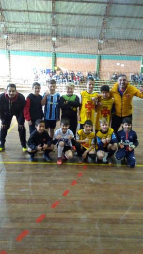 Torneio de futsal no Município