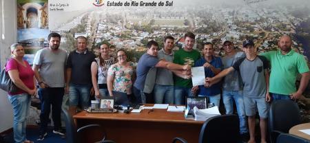 Prefeitura de General Câmara assina termo de fomento com a AGEFA