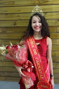 Bruna Fróis é a Rainha do Carnaval 2020