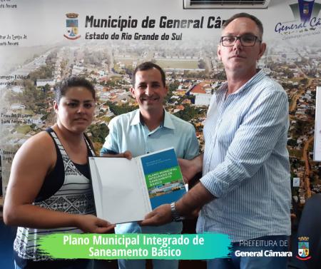 Entrega do Plano Municipal Integrado de Saneamento Básico
