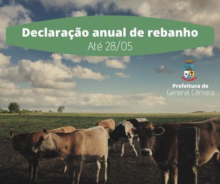 Declaração anual de rebanho