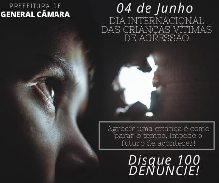 04 de Junho| Dia Internacional das Crianças Vítimas de Agressão